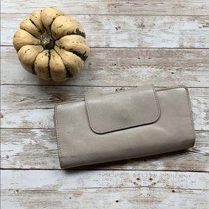 HOBO | Nancy Wallet in Grey/Tan